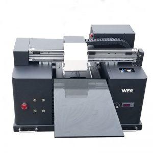 2017 billig A4-skrivbordstablett UV-ledd flatbädd digital skrivare WER-E1080UV
