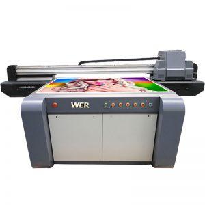 3D-effekt UV flatbed skrivare, keramik skrivare, kakel skrivare i Kina WER-EF1310UV