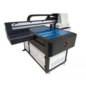A1 UV-skrivare Digital 6090 flatbed UV-tryckmaskin med 3D-effekt / färgutskrift