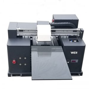 A4-storlek LY A42 digital automatisk telefonväska UV-ledd flatbedskrivare UV-flatbäddsskrivare med 6 färgutskrifter WER-E1080UV