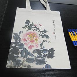 Canvas väska utskrift ur A2 t-shirt skrivare WER-D4880T