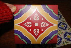 Keramikplattorprov tryckt på A2 UV-skrivare WER-D4880UV