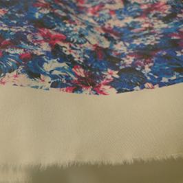 Digitalt textiltrycksprov 2 av digital textilskrivare WER-EP7880T
