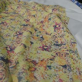 Digitalt textilprov 3 av A1 digital textilskrivare WER-EP6090T