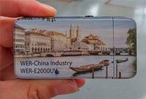 Elektrisk tändare trycktes av A3-storlek liten UV-skrivare -WER-E2000UV