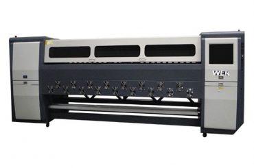 Bra kvalitet K3404I / K3408I Solvent Printer 3.4m inbyggd bläckstråleskrivare
