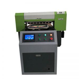 Tillverkad i Kina billigt pris UV flatbed skrivare 6090 A1 storlek skrivare