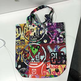 Non-woven väska tryckspruta med A1 digital textilskrivare WER-EP6090T