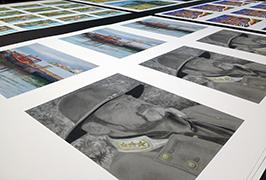 Fotopapper utskrivet av 1,8 m (6 fot) ekolösningsmedelsskrivare WER-ES1802 2
