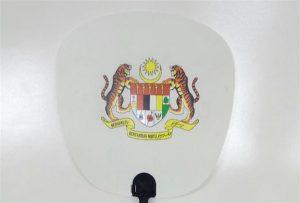 Plastfläktprov tryckt av A1-storlek UV-skrivare 6090UV