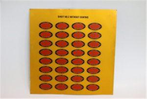 Tryckprov av metall på A3 UV-skrivare WER-E2000UV