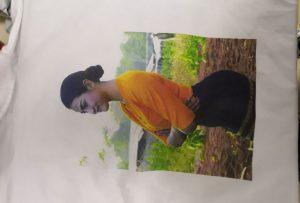 T-shirt utskrift för Burma klient från WER-EP6090T skrivare