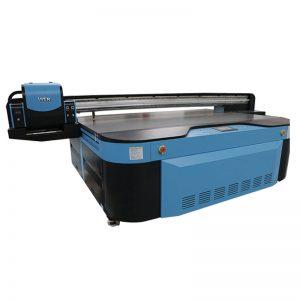 högkvalitativ UV flatbädd skrivare för vägg / keramikplatta / fotografier / akryl / träutskrift WER-G2513UV