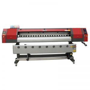 tillverkare av hög kvalitet M18 1,8m färgämne sublimeringsskrivare med DX5 skrivhuvud för T-shirt, kuddar och musmattor EW1902